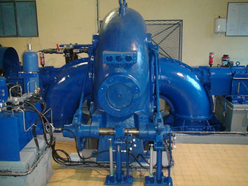 turbine Francis double Dumont