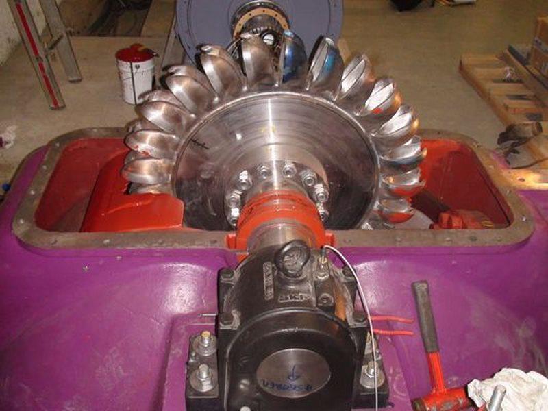 turbine Pelton Desgranges