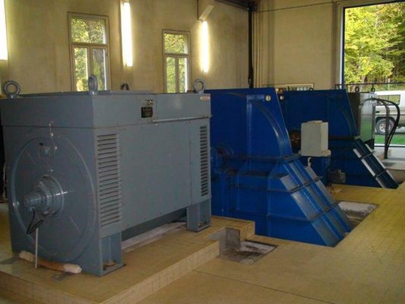 turbine Pelton Dumont